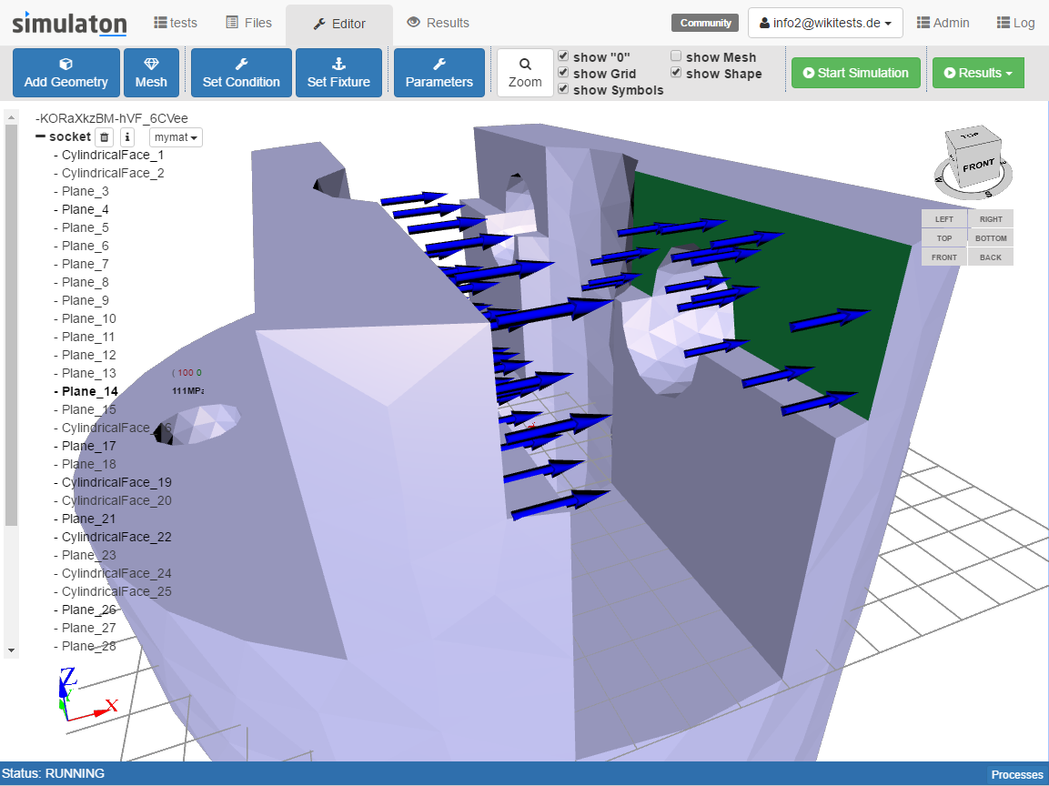 Simulaton-editor